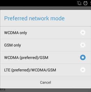 Cara Merubah Jaringan 3g Ke 4g di Hp Android