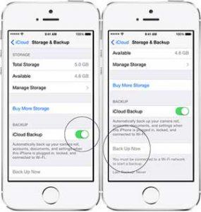 Cara Backup iPhone ke iCloud dan iTunes