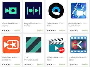 Aplikasi Edit Video di Android terbaik