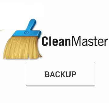 Clean Master Backup Tipandroid