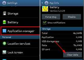 how to delete auto backup pics on android