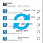 Cara Sinkronisasi Akun Google Di Hp Android