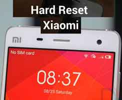 Cara Reset Xiaomi Lengkap Semua Seri