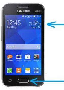 Screenshot Semua Tipe Hp Samsung
