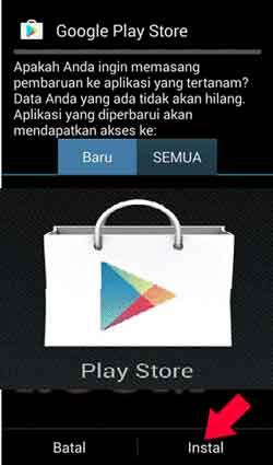 Cara instal Ulang Play Store Hp Android
