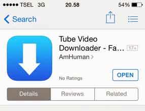 Cara Mendownload Video pada Iphone