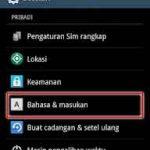 Cara Mengubah Bahasa Keyboard Android