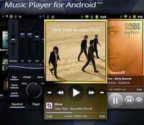 Aplikasi Pemutar Musik Ponsel Android