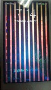 Mengatasi LCD IPhone Bergaris