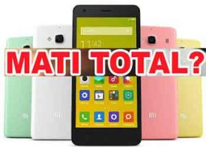 Mengatasi Hp Xiaomi Yang Mati Total