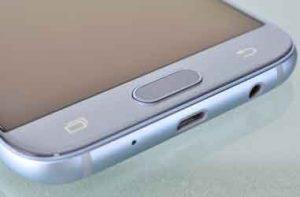 Lampu Tombol Back pada Hp Samsung
