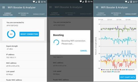 Aplikasi Penguat Sinyal WiFi Android