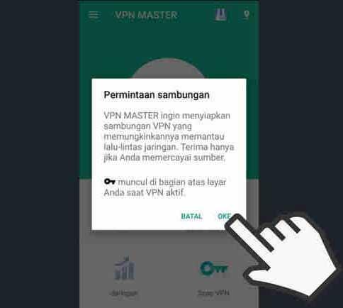 cara buka situs yang diblokir oleh pemerintah di indonesia di android menggunakan vpn