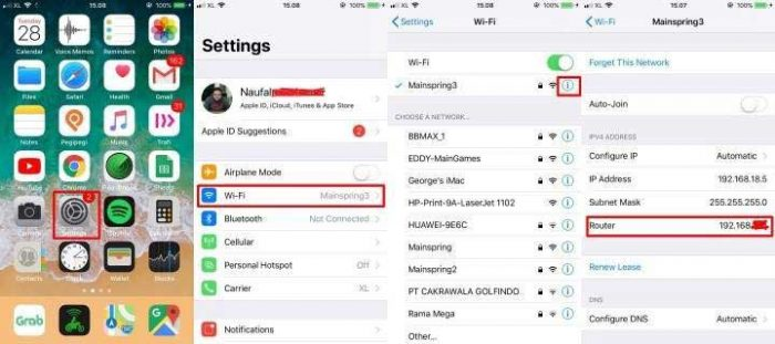 Cara Melihat Password Wifi Di Iphone