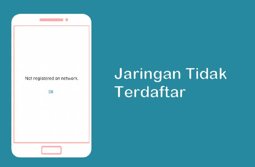 Error Tidak Terdaftar di Jaringan (Not Registered on Network)