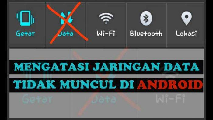 data seluler android tidak bisa aktif