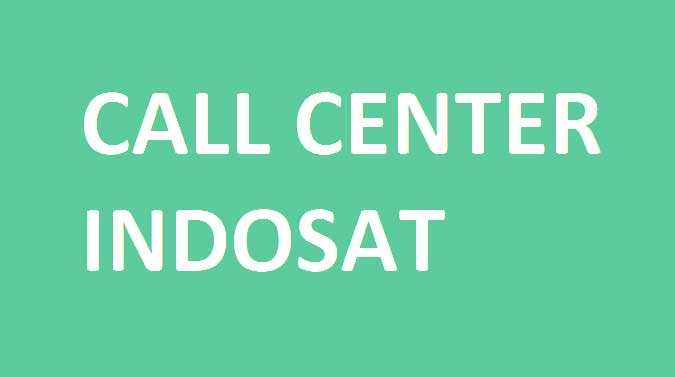 call center indosat bebas pulsa 2019