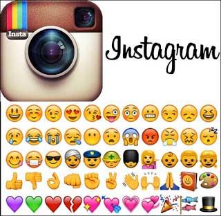cara memunculkan emoticon di story instagram