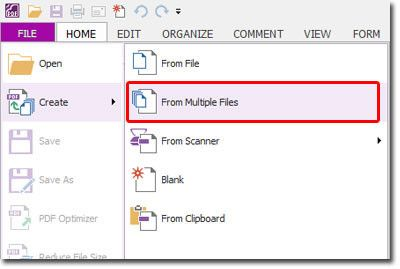 menggabungkan file pdf pada foxit reader