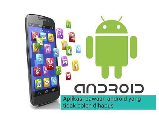 aplikasi yang tidak wajib dihapus di android