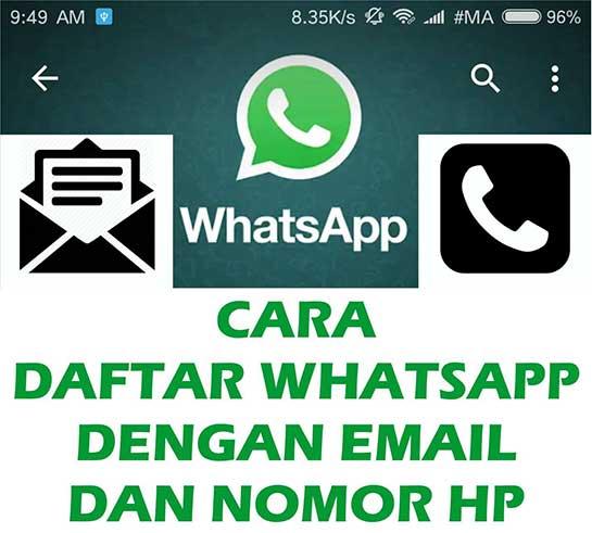 cara login whatsapp dengan nomor lama