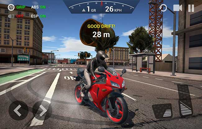 simulator game motor android offline