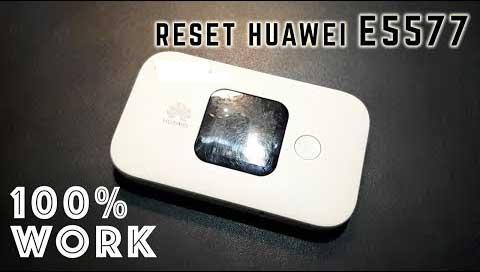 cara reset modem huawei e5577