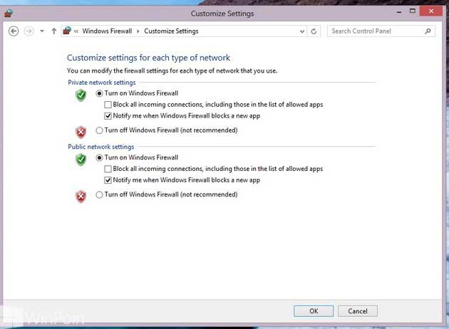 cara mematikan firewall windows 10 permanen