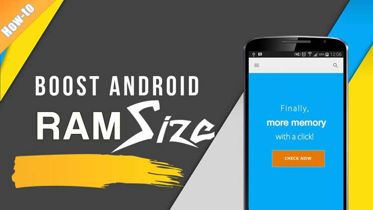 cara menambah ram android dengan sd card