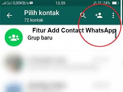 cara mengundang teman di whatsapp dengan nomor telepon