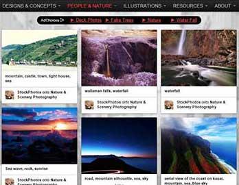 contoh situs web untuk mencari gambar