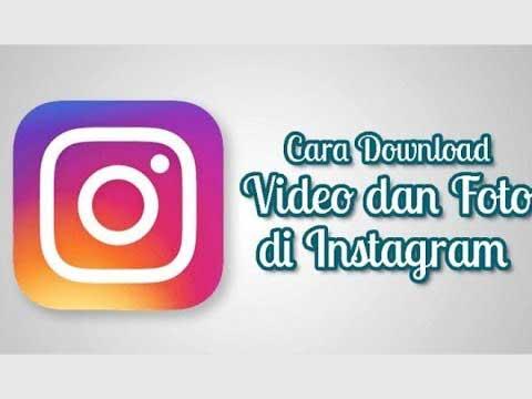 cara download foto di instagram pc