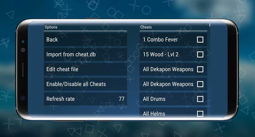 cheat ppsspp android