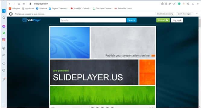 website slideplayer.com