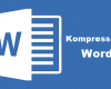 cara kompres file word
