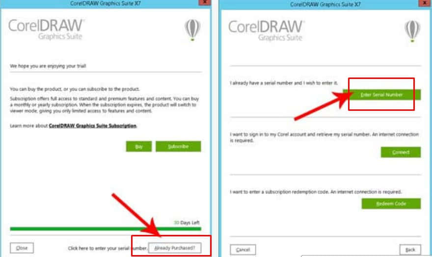 aktivasi corel draw dengan keygen 2