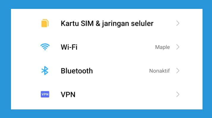 Melalui halaman Admin Router 1