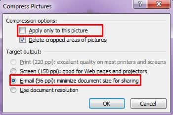 cara kompres gambar untuk perkecil file word