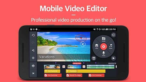 kinemaster untuk membuat efek blur pada video (video bokeh editor)