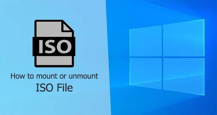 Cara Mount File ISO Windows
