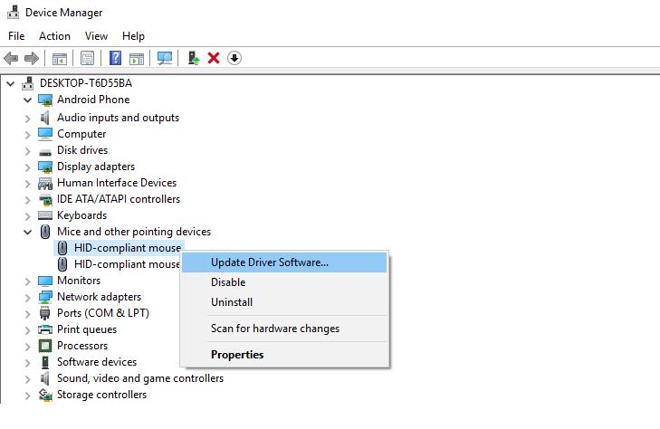 cara mengaktifkan touchpad laptop asus dengan update driver software